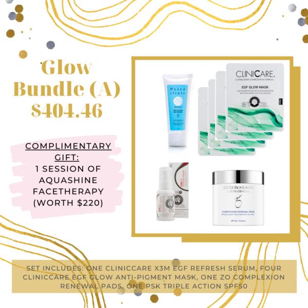 Prive Skincare Glowing Skin Bundle